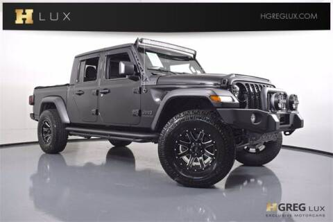 2020 Jeep Gladiator for sale at HGREG LUX EXCLUSIVE MOTORCARS in Pompano Beach FL