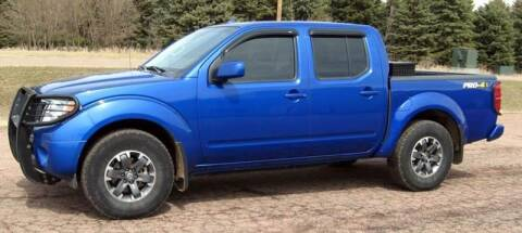 2014 Nissan Frontier for sale at Rapp Motors in Marion SD
