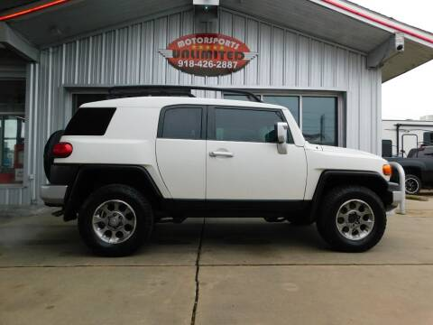 2011 Toyota FJ Cruiser for sale at Motorsports Unlimited in McAlester OK