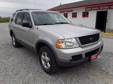 2002 Ford Explorer for sale at Sarpy County Motors in Springfield NE