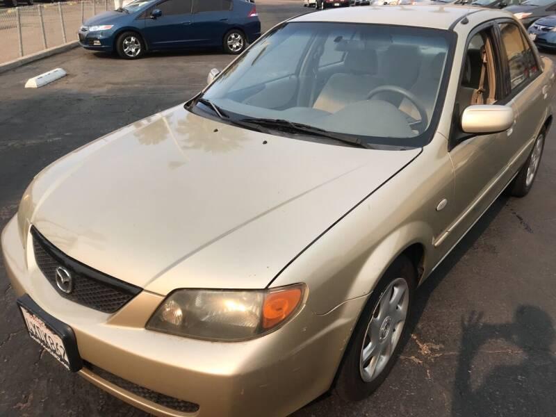 2002 Mazda Protege for sale at CARZ in San Diego CA