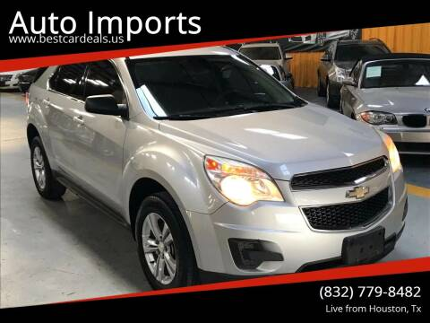 2013 Chevrolet Equinox for sale at Auto Imports in Houston TX