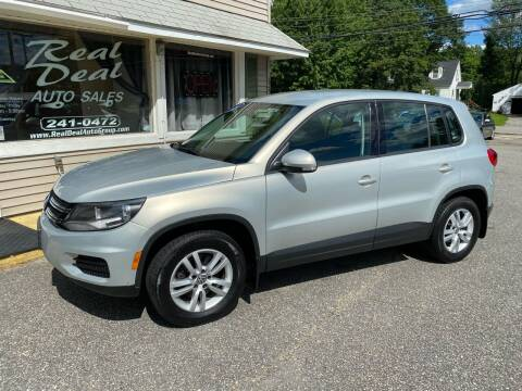 2014 Volkswagen Tiguan for sale at Real Deal Auto Sales in Auburn ME