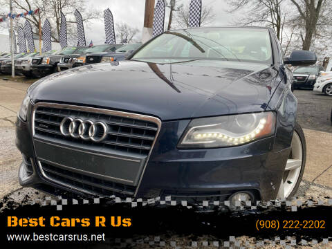 2011 Audi A4 for sale at Best Cars R Us in Plainfield NJ