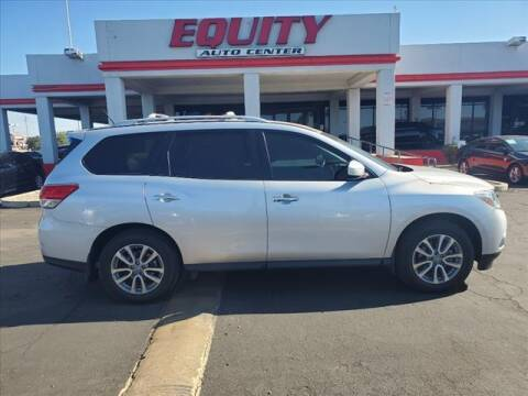 2014 Nissan Pathfinder for sale at EQUITY AUTO CENTER in Phoenix AZ