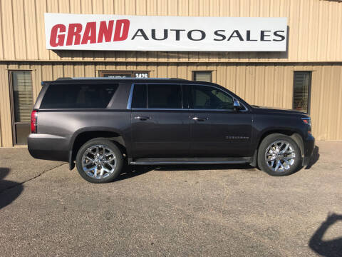 2017 Chevrolet Suburban for sale at GRAND AUTO SALES in Grand Island NE