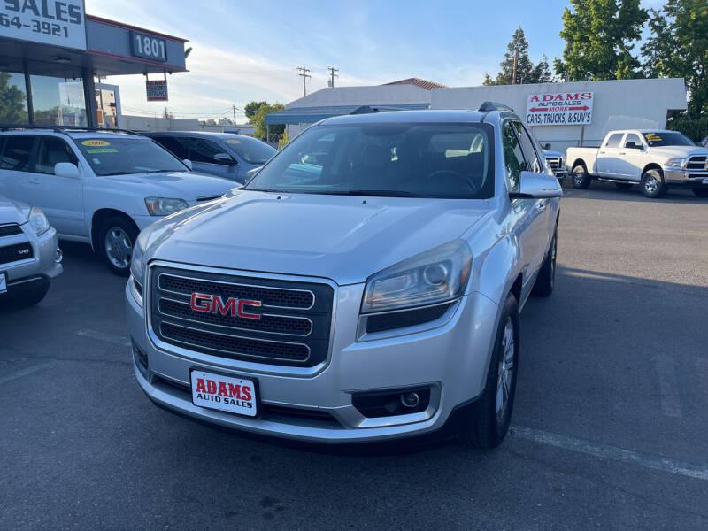 2013 GMC Acadia for sale at Adams Auto Sales in Sacramento CA