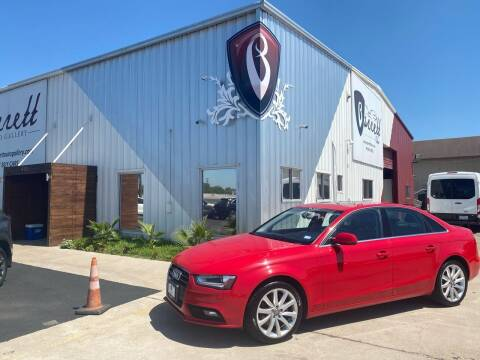 2013 Audi A4 for sale at Barrett Auto Gallery in San Juan TX