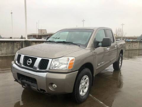 2006 Nissan Titan for sale at Rave Auto Sales in Corvallis OR