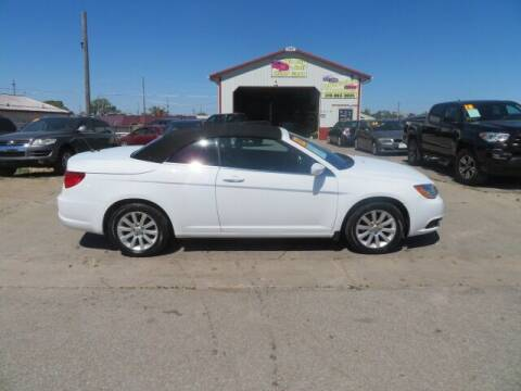 2012 Chrysler 200 Convertible for sale at Jefferson St Motors in Waterloo IA
