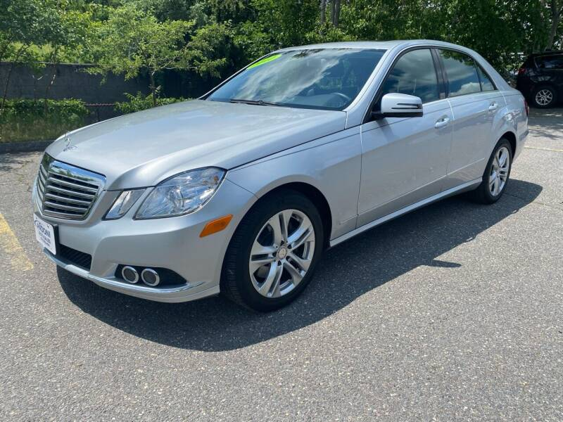 2010 Mercedes-Benz E-Class for sale at ANDONI AUTO SALES in Worcester MA