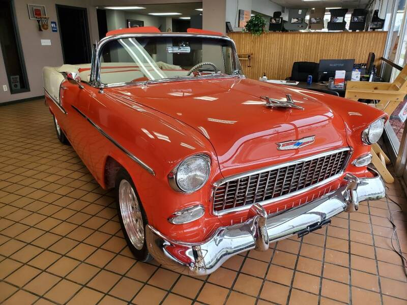 1955 Chevrolet Bel Air for sale at Stach Auto in Janesville WI