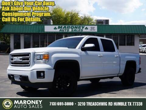 2014 GMC Sierra 1500 for sale at Maroney Auto Sales in Humble TX