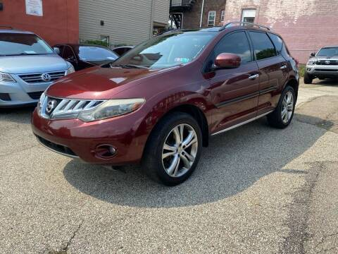 2009 Nissan Murano for sale at MG Auto Sales in Pittsburgh PA