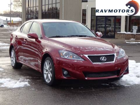 2013 Lexus IS 250 for sale at RAVMOTORS 2 in Crystal MN