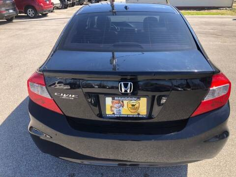 2012 Honda Civic for sale at MR Auto Sales Inc. in Eastlake OH