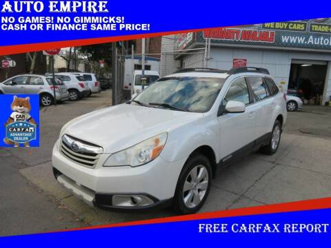 2012 Subaru Outback for sale at Auto Empire in Brooklyn NY