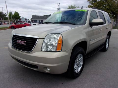 2007 GMC Yukon for sale at Ideal Auto Sales, Inc. in Waukesha WI