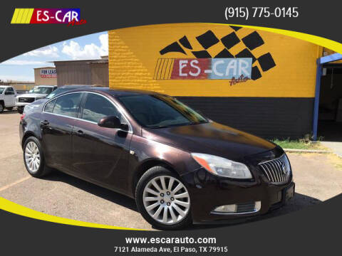 2011 Buick Regal for sale at Escar Auto in El Paso TX