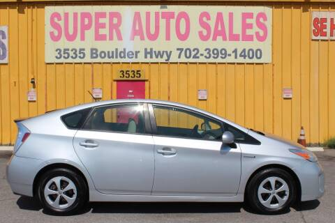 2015 Toyota Prius for sale at Super Auto Sales in Las Vegas NV