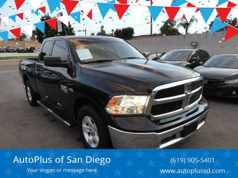 2019 RAM Ram Pickup 1500 Classic for sale at AutoPlus of San Diego in Spring Valley CA