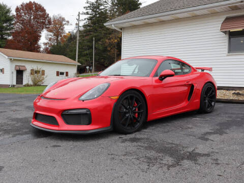 2016 Porsche Cayman for sale at Terrys Auto Sales in Somerset PA