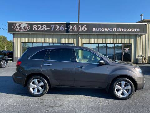 2010 Acura MDX for sale at AutoWorld of Lenoir in Lenoir NC