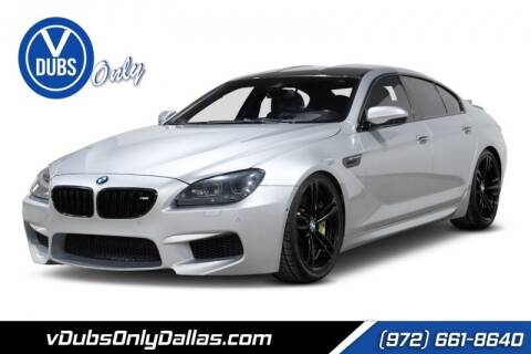2014 BMW M6 for sale at VDUBS ONLY in Dallas TX
