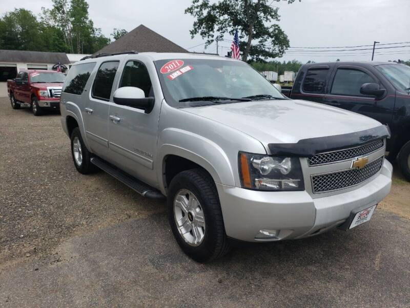 2011 Chevrolet Suburban for sale at Winner's Circle Auto Sales in Tilton NH