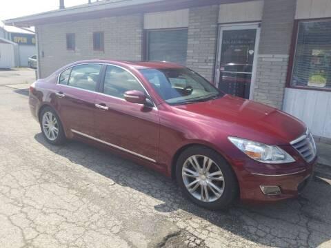 2011 Hyundai Genesis for sale at David Shiveley in Mount Orab OH