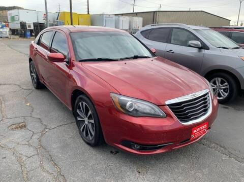 2013 Chrysler 200 for sale at SCOTTIES AUTO SALES in Billings MT