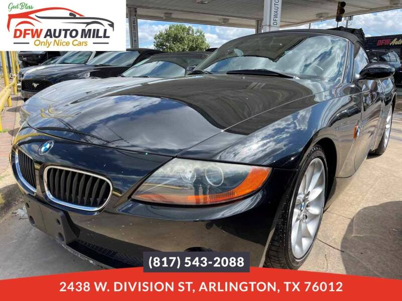 2004 BMW Z4 for sale in Arlington, TX