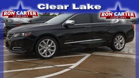 2019 Chevrolet Impala for sale at Ron Carter  Clear Lake Used Cars in Houston TX