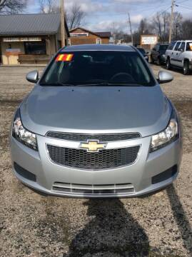 2011 Chevrolet Cruze for sale at WILLIAMS CAR MART in Gassville AR