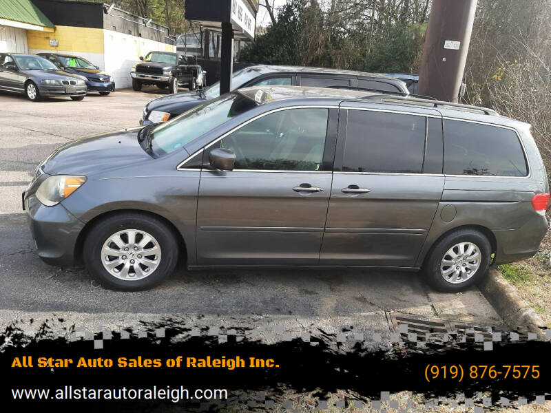 2010 Honda Odyssey for sale at All Star Auto Sales of Raleigh Inc. in Raleigh NC