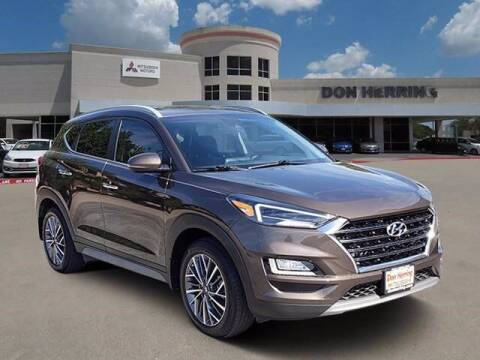 2019 Hyundai Tucson for sale at Don Herring Mitsubishi in Plano TX
