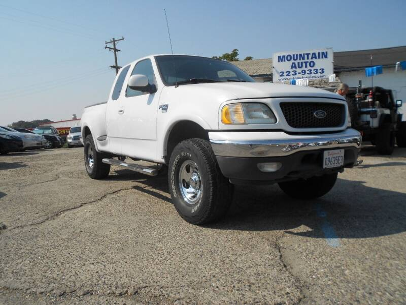 2000 Ford F-150 for sale at Mountain Auto in Jackson CA