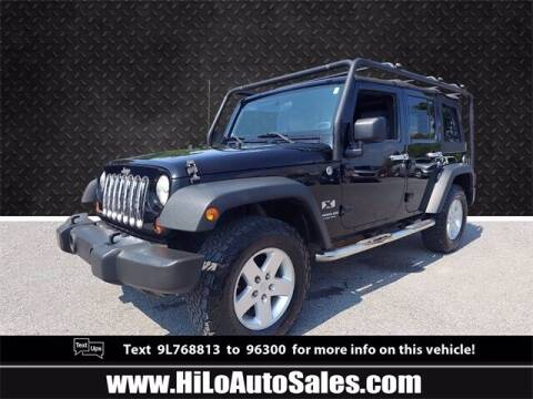 2009 Jeep Wrangler Unlimited for sale at Hi-Lo Auto Sales in Frederick MD