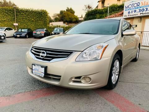 2010 Nissan Altima for sale at MotorMax in Lemon Grove CA