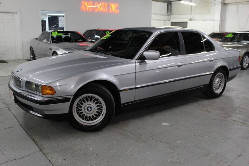 1998 BMW 7 Series for sale at R n B Cars Inc. in Denver CO