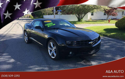 2012 Chevrolet Camaro for sale at A&A AUTO in Fairhaven MA