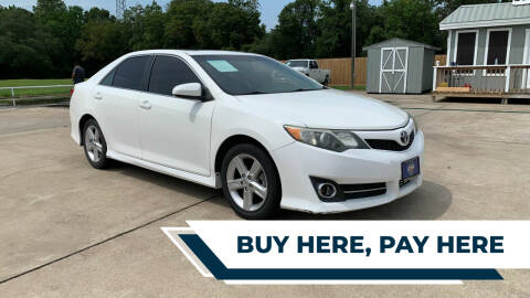 2014 Toyota Camry for sale at H3 MOTORS in Dickinson TX