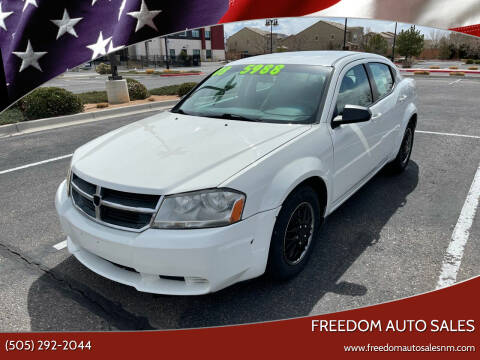 2008 Dodge Avenger for sale at Freedom Auto Sales in Albuquerque NM