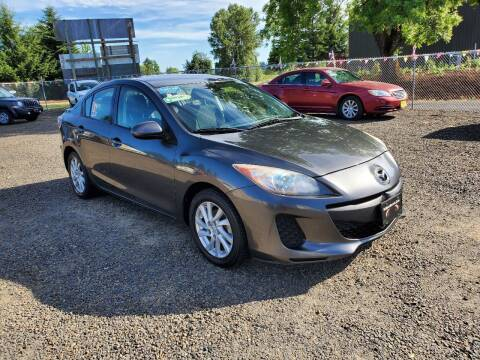 2012 Mazda MAZDA3 for sale at McMinnville Auto Sales LLC in Mcminnville OR