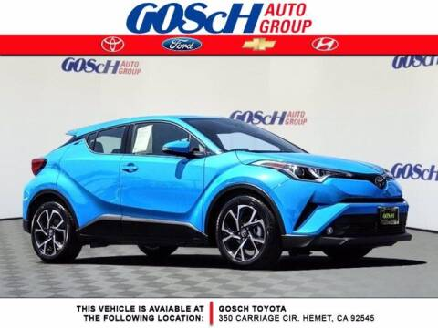 2019 Toyota C-HR for sale at BILLY D SELLS CARS! in Temecula CA