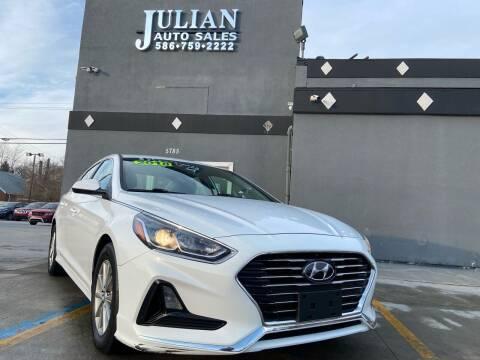 2018 Hyundai Sonata for sale at Julian Auto Sales, Inc. in Warren MI
