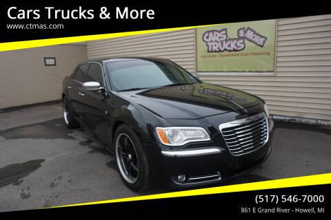 2013 Chrysler 300 for sale at Cars Trucks & More in Howell MI
