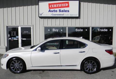 2011 Lexus LS 460 for sale at Certified Auto Sales in Des Moines IA