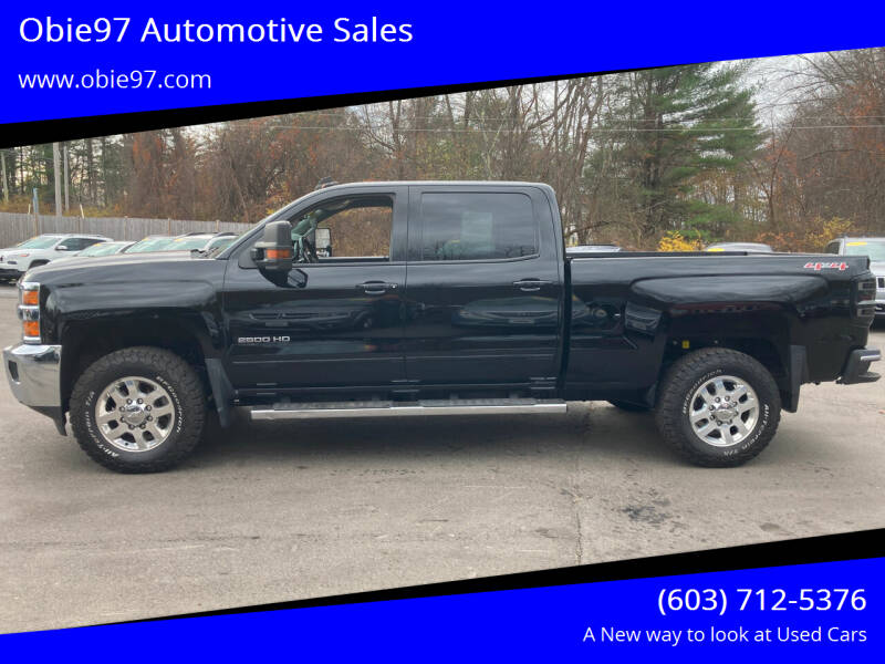 2015 Chevrolet Silverado 2500HD for sale at Obie97 Automotive Sales in Londonderry NH