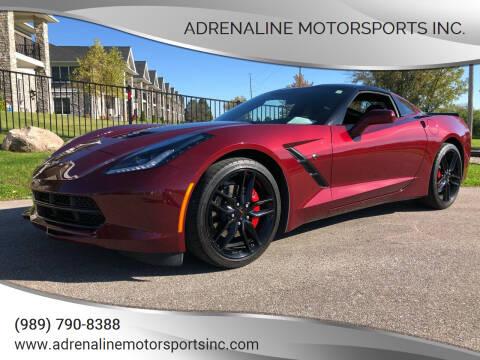 2018 Chevrolet Corvette for sale at Adrenaline Motorsports Inc. in Saginaw MI